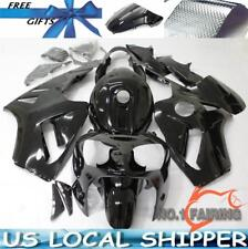 Soild Black Fairing Kits Set For Kawasaki Ninja ZX12R 2000 2001 ZX-12R ZX1200A