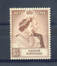 BRITISH HONDURAS --1948 SILVER WEDDING ---$5--** MNH -- VF