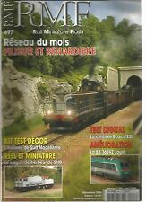 RMF N°497 RESEAU : FILISUR ET RENARDIERE / WAGON DESHERBEUR DE SMD / BB 36242