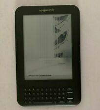 Amazon Kindle D00901 WiFi eBook eReader - Broken / Crack Screen