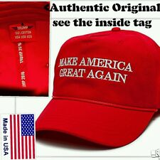 OFFICIAL AUTHENTIC ORIGINAL MAGA cap with TWL rope HAT Trump brand tag relisted
