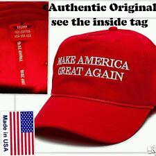 OFFICIAL AUTHENTIC ORIGINAL Donald Trump Make America Great Again rope hat cap