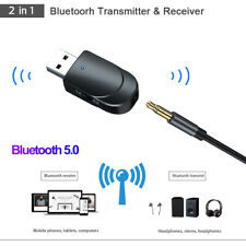 Stereo Wireless USB Audio Adapter Bluetooth 5.0 Transmitter Receiver 3.5mm Jack