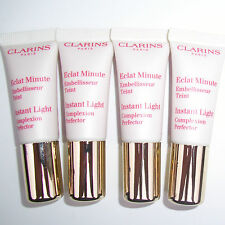 CLARINS INSTANT LIGHT COMPLEXION PERFECTOR 4 x 10ml TUBES ROSE SHIMMER - 00 NEW