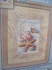 SHELLS IN THE SAND ~ Dimensions Counted Cross Stitch Kit ~ Made USA