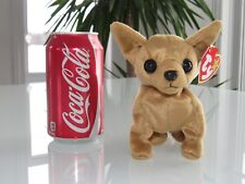 """NEW TY ORIGINAL BEANIE BABY COLLECTION """"TINY"""" CHIHUAHUA PLUSH DOLL"""
