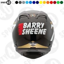 Barry Sheene Sticker / Vinyl Decal - Motorbike Motorcycle toolbox - 2111-0219