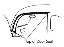 1937-1948 FORD CAR 4DOOR -CLOSED CAR- ON BODY TOP OF DOOR SEALS PART# 78-7320532