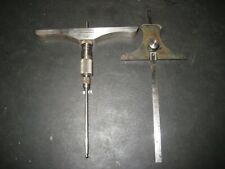 Brown And Sharpe 605 Depth Micrometer And 615 Depthheight Gauge