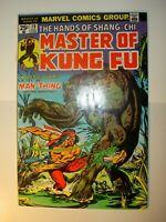 Master of Kung-Fu #19 FN/VF, 26 FN+, 32 FN/VF, 33 VF-, 36 FN+, lot of 5, 1974