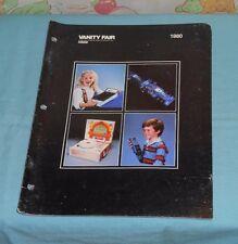 1980 VANITY FAIR dealers' CATALOG toys Spider-Man, radio control cars, more
