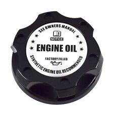 Black Oil Filler Engine Cap Billet Silver Engine Emblem For Toyota Scion Lexus
