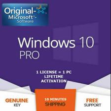 Windows 10 Professional Pro ( GENUINE KEY ) 32/64 Bit