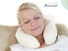 U-Shape Memory Foam Portable Compact Travel Neck Pillow, Dreamsweet  D1B