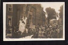 Newark - Lombard Street Parade - real photographic postcard