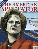 The American Spectator Magazine Margaret Thatcher Florence King F-35 Paul Ryan