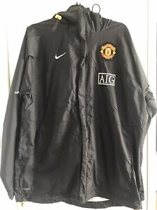 Mens Nike Man Utd Classic Training Jacket 2006-2008 AIG, Great Condition, Size L