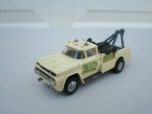 Vintage Lindberg Mini Lindy #16 Tow Truck, Bill's Towing