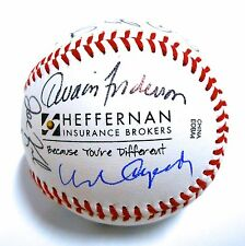 Orlando Cepeda HOF Bert Campaneris & Others Autograph Signed Auto Ball Baseball
