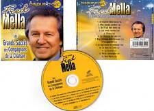 """FRED MELLA """"Les Grands Succès Des Compagnons De La Chanson"""" (CD) 2004"""