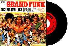 "7"" - GRAND FUNK RAILROAD - ALGO MARAVILLOSO (ROCK) ORIG.SPANISH EDIT.1975*LISTEN"