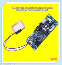 3pcs 5K User RFID 125Khz with antenna IR remot Standalone Access Control Board