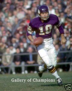 Fran Tarkenton Minnesota Vikings #278 Photo 8x10