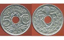 5 centimes LINDAUER 1932  SUP