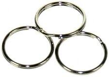 100 x 13mm split key rings.crafts,findings,jewellery making