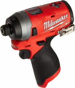 """Brand New Milwaukee 2553-20  M12 FUEL Brushless 1/4"""" Hex Impact Driver-Tool Only"""