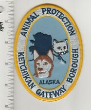 US Police Patch Ketchikan Alaska Animal Protection Gateway Borough