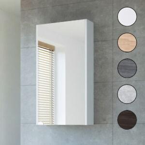 Planetmöbel Gäste WC Bad Spiegelschrank 40cm in elegantem Design