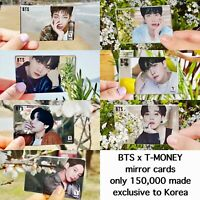 [US SELLER] BTS x CU T-Money Official Mirror Card Photocard 2021 Limited Edition