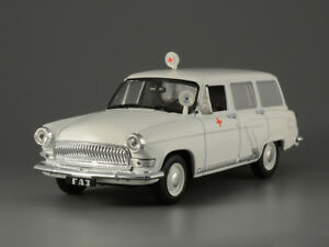 GAZ-22 B Volga Soviet Ambulance USSR 1965 Year 1/43 Scale Collectible Model Car
