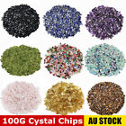 Natural Crystal Chips A Grade Gemstone Tumble Polished Mini - 100G BULK LOT