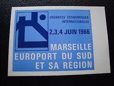FRANCE - carte 4/6/1966 (journees economiques internationales) (cy97) french (Z)