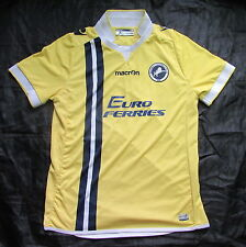 Millwall FC away Shirt jersey Macron 2014-2015 The Lions men adult SIZE S
