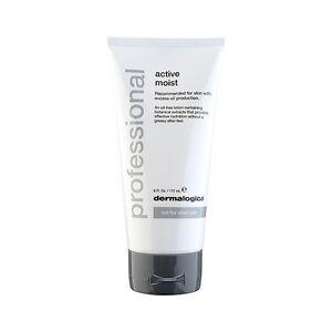 1PC Dermalogica Active Moist 6oz,177ml Skincare Moisturizer Smooth Soothe Salon
