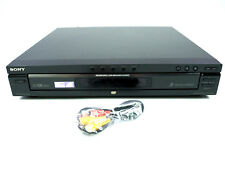 Sony Dvp-Nc675P Dvd Player Cd 5-Disc Changer Black No Remote Av Cable 55068709