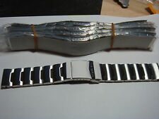 TRADE sale  LOT JOB LOT OF 25 GENUINE MIX NAMES Stainless Steel WATCH STRAPs