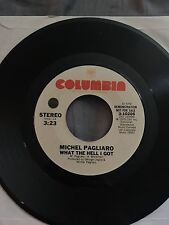 Michel Pagliaro 45 What the Hell I Got demo promo copy very good + almost exe