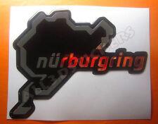 Adesivi Resinati 3D Circuito Nürburgring 13x10 cm (antiguo trazado)