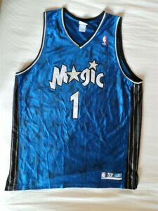 Reebok Authentic Orlando Magic Tracy McGrady Jersey s 52 2XL XXL TMac vintage OG