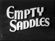 EMPTY SADDLES (1936) DVD BUCK JONES, LOUISE BROOKS