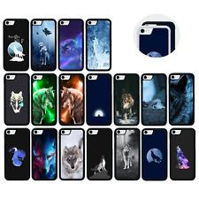 Goma Protectora Paragolpes Estuche/cubierta para iPhone 5 5s SE 6 6s 7 Plus/Wolf