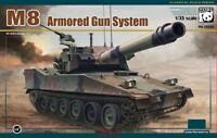 Panda Hobby PH35039 M8 Armoured Gun System Model Free Shipping 2019 Newest 1/35