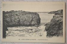 """CPA """" SAINT PIERRE QUIBERON - Vue de Port-Blanc"""