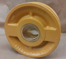 "Johnson Sheave / Pulley #8-25, 7-7 /8"" OD, 1/2"" Rope Groove 2.22"" Bore w/bushing"