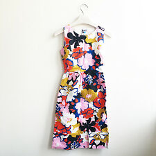 "NWT Anthropologie ""Petalprint Cross-Back Dress by WHIT Two"" 0"