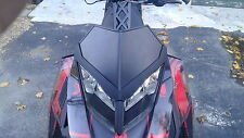 Custom black skidoo XP windshield